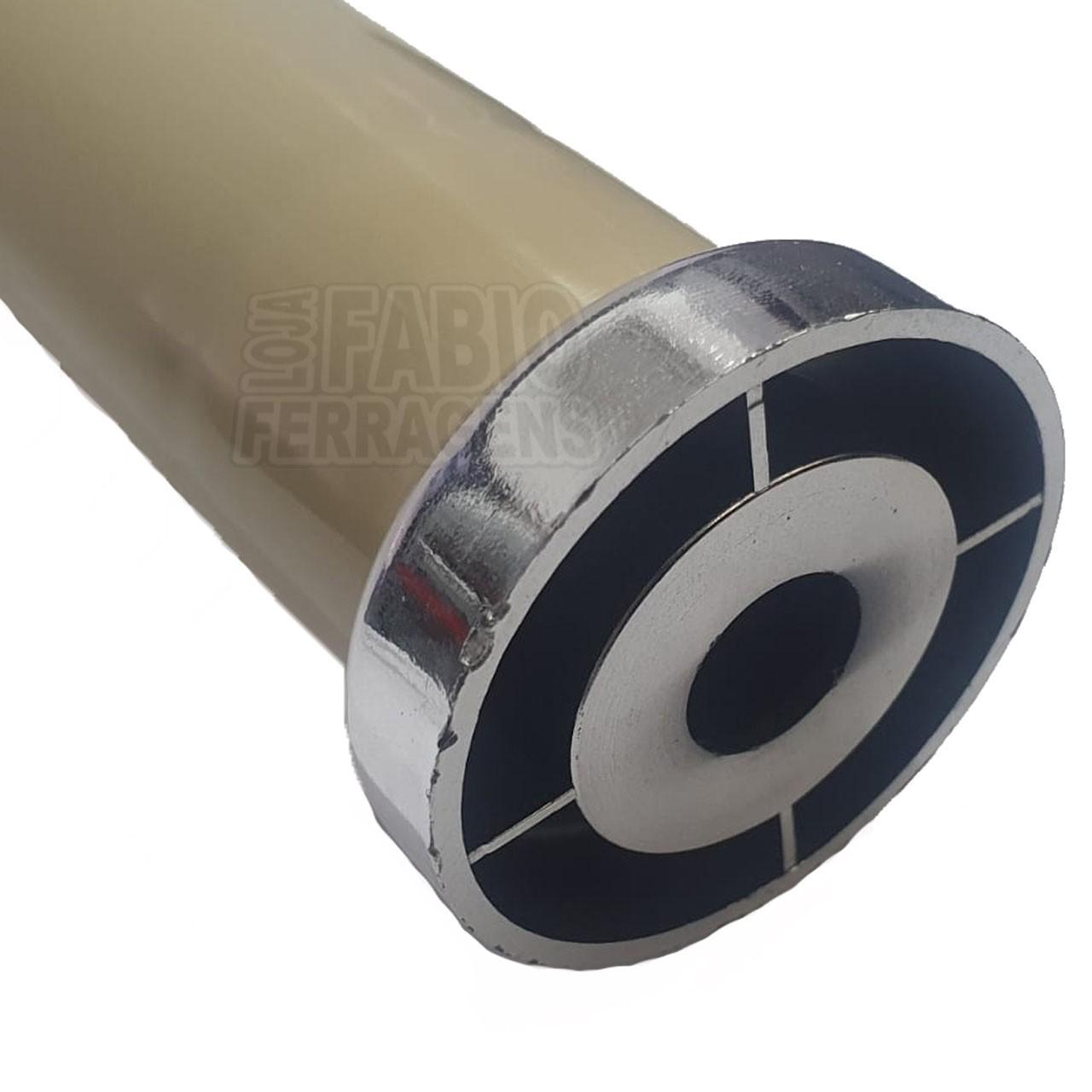 kit 10 - Pé Marfim Para Móveis Para Móveis Aço Itatiaia De 16 a 18cm Com Regulagem Genuíno