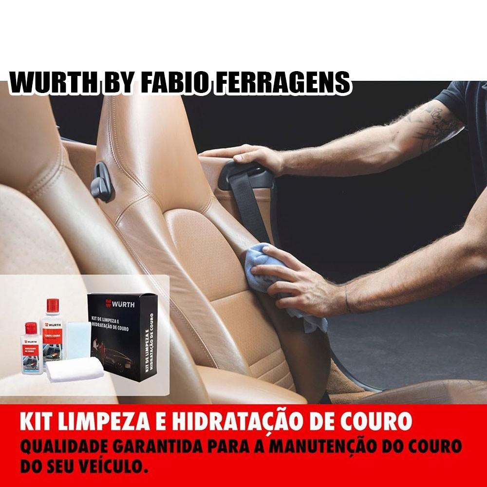 Kit Para Limpar E Hidratar Couro Banco De Couro Wurth