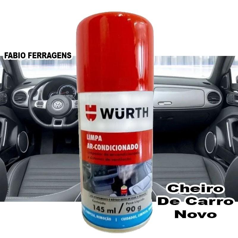 Limpa Ar Condicionado Granada Wurth 145ml - Fragrância: Carro Novo