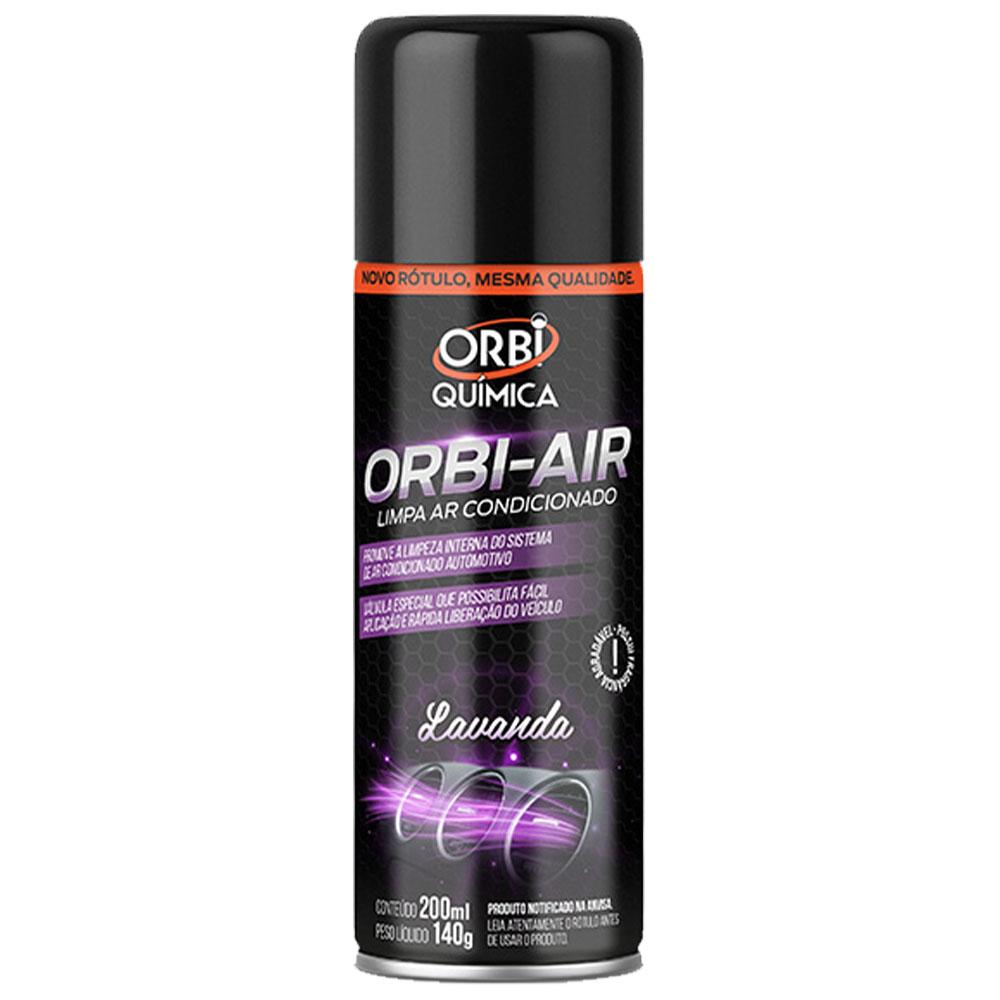 Limpa Ar Condicionado Fragrância Lavanda Granada 200ml / 140G  - Orbi Quimica