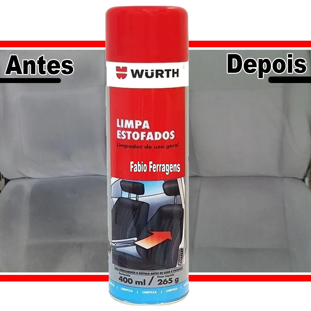 Limpa Estofado Wurth De 400ml