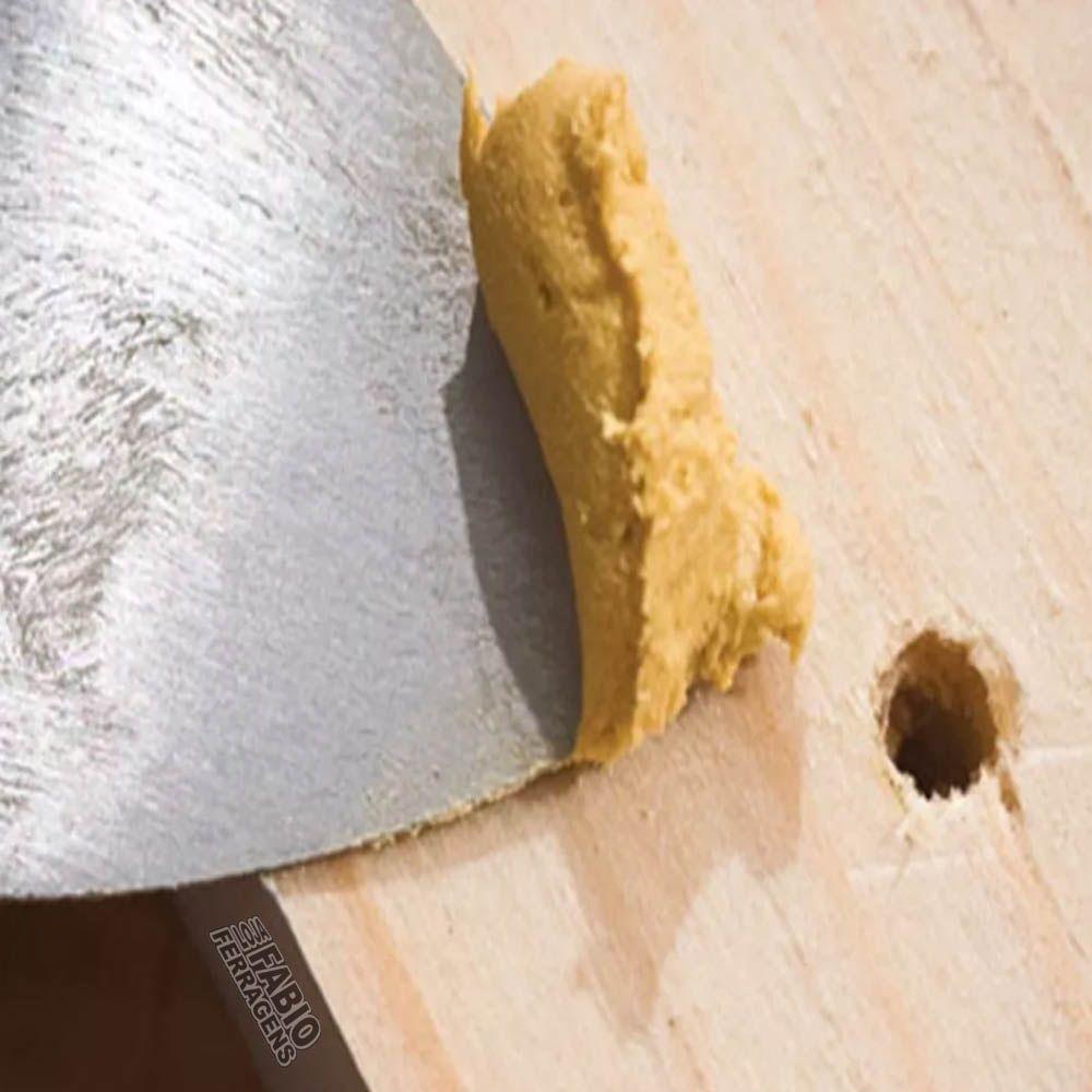 Massa Especial Para Madeira Marfim De 370 Gramas