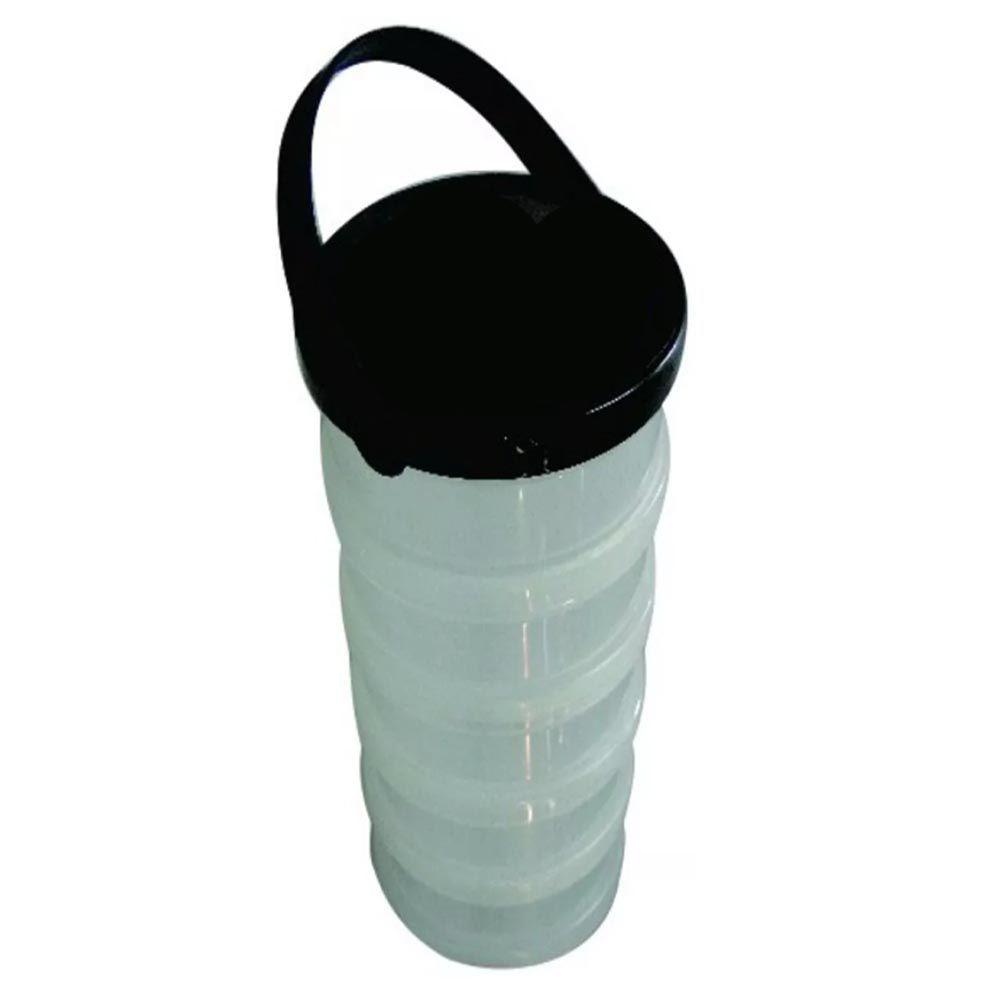Organizador Plástico Porta Treco Com 5 Divisórias