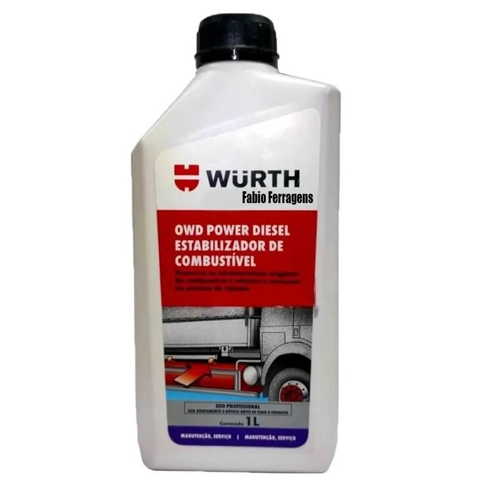 OWD Wurth Power Diesel Estabilizador de Combustível