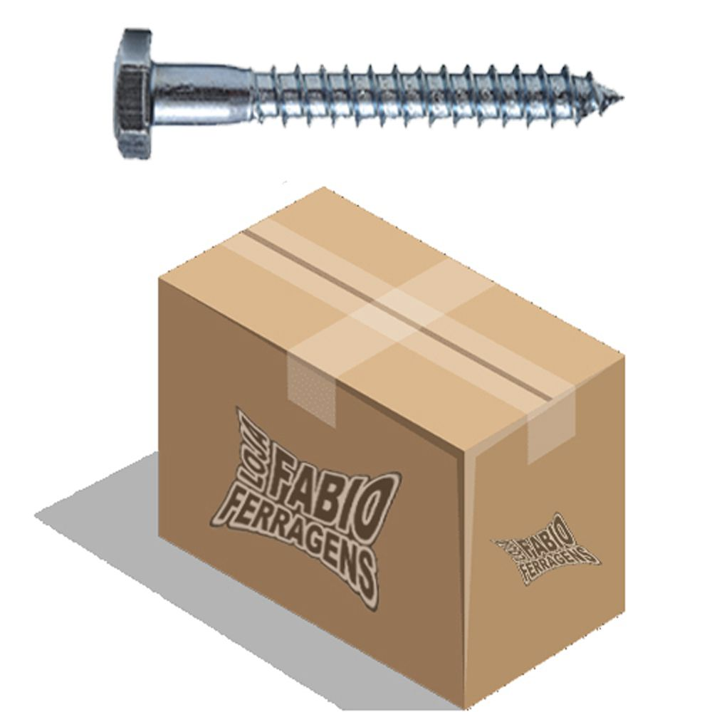Parafuso Sextavado Sorberbo 1/4x50mm - Caixa Com 200 Unidades