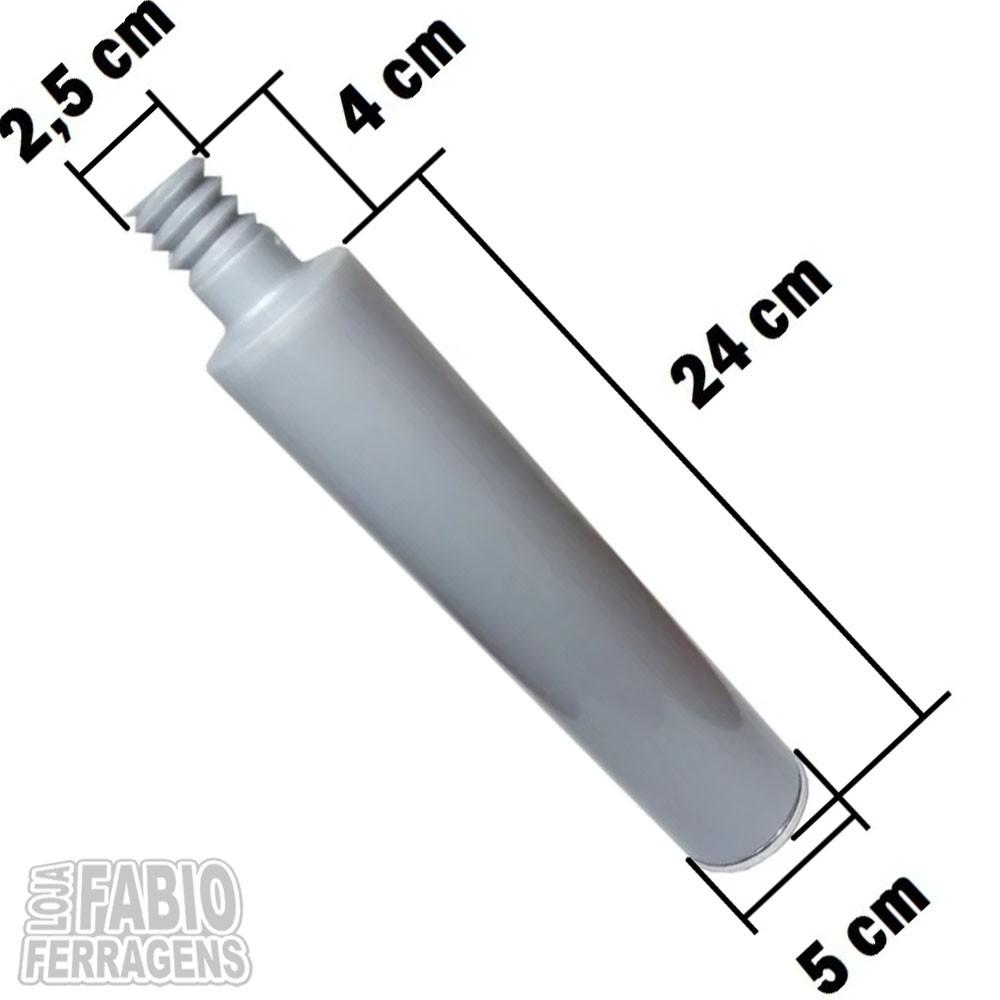Pé Para Móveis Armário Gabinete Rorato De 24 cm