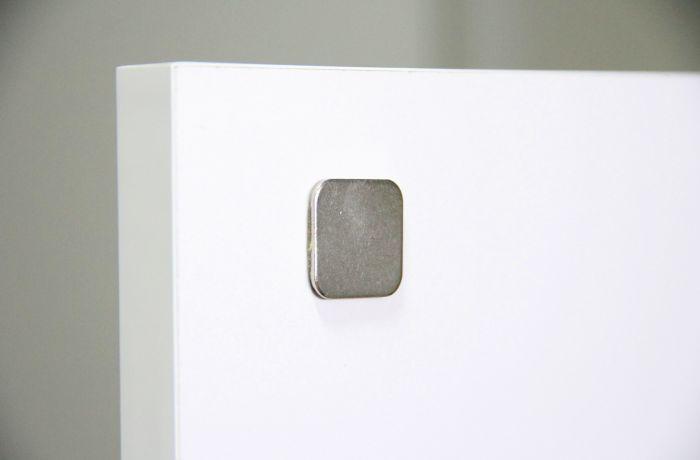 Pulsador Magnético Para Móveis Com Parafusos