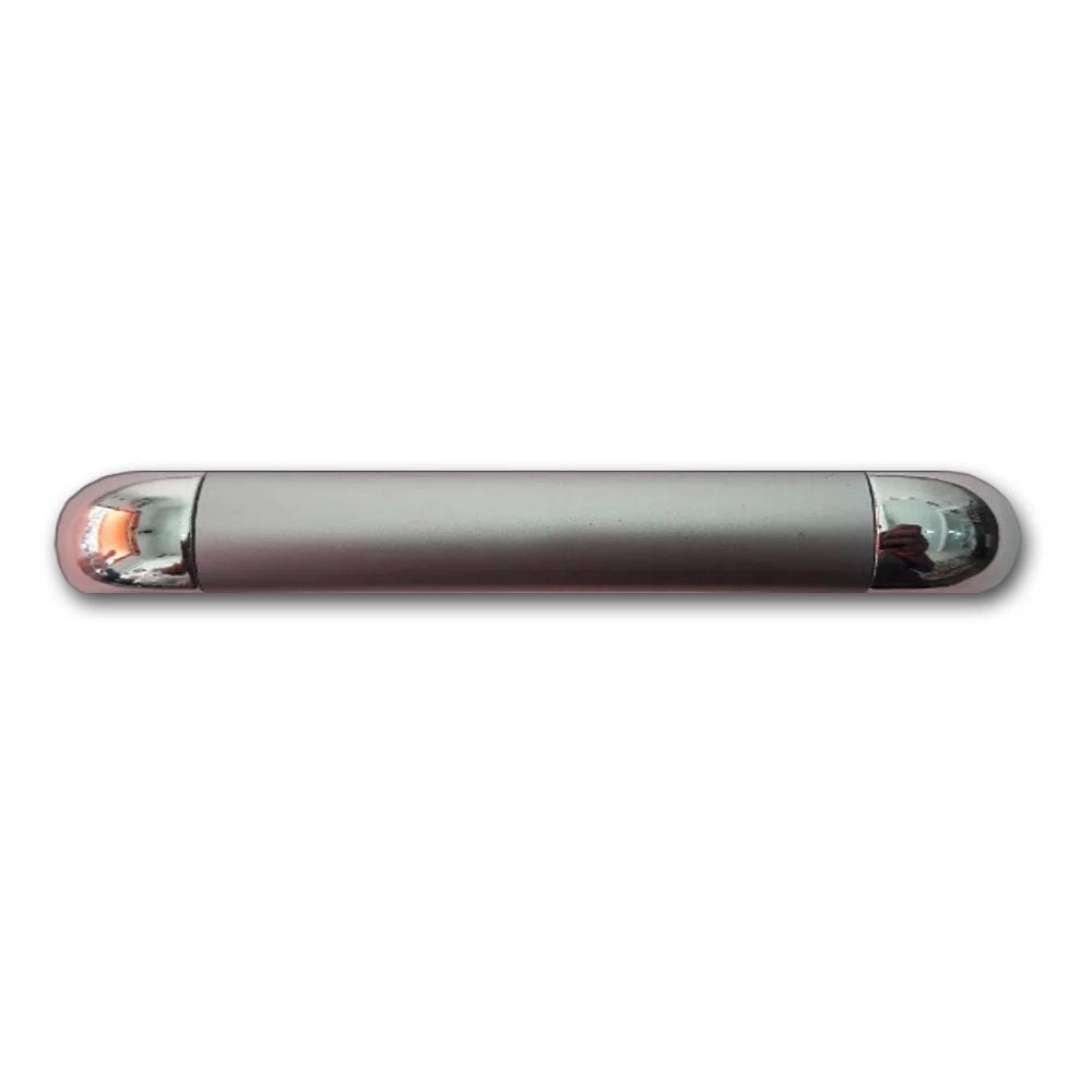 Puxador Júpiter Para Móveis De 128 mm Com Parafuso De Fixação