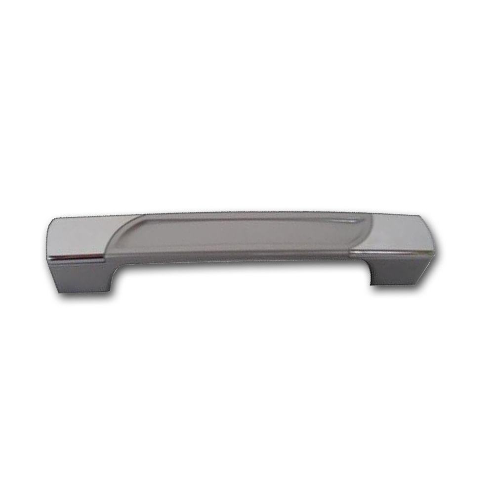 Puxador Sirius Para Móveis De 128 mm Com Parafuso De Fixação