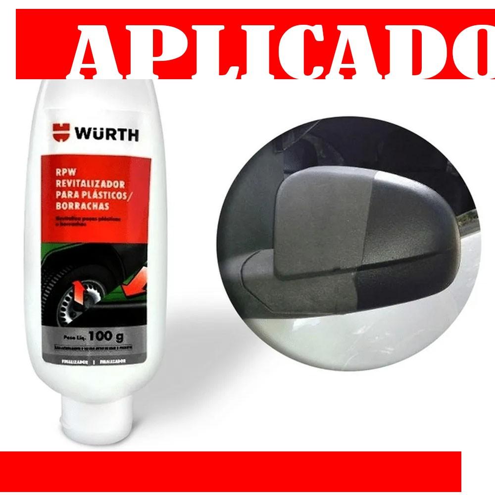 Revitalizador De Plásticos E Borrachas Wurth Rpw 100 gramas