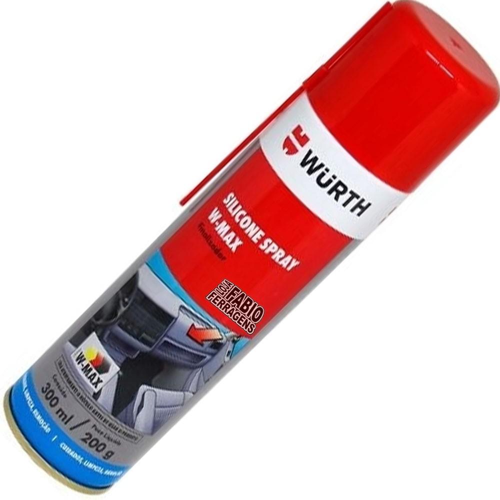Silicone Spray W-max De 300ml Wurth