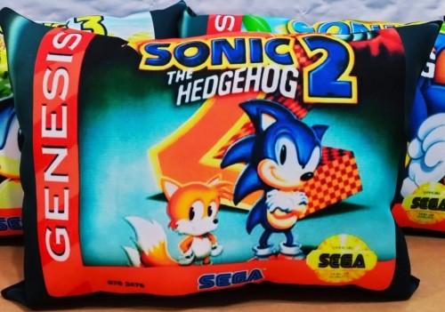 Almofada Sonic The Hedgehog 2