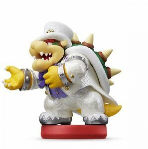 Amiibo Bowser Wedding Style Nintendo Super Mario Odyssey