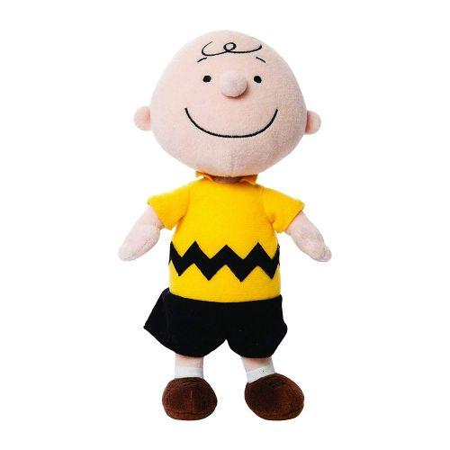 Aurora Peanuts Charlie Brown Pelúcia 30cm Oficial Licenciado