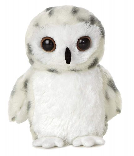 Aurora World  Snowy Owl Pelúcia Oficial Licenciado
