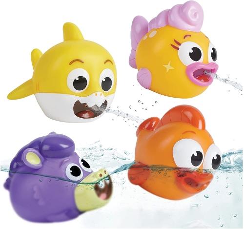 Baby Shark Esguicho de banho p/ crianças e bebês se divertirem na banheira