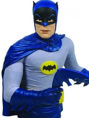 Diamond Select Batman 1966 Classic TV Series Cofre Busto Oficial Licenciado