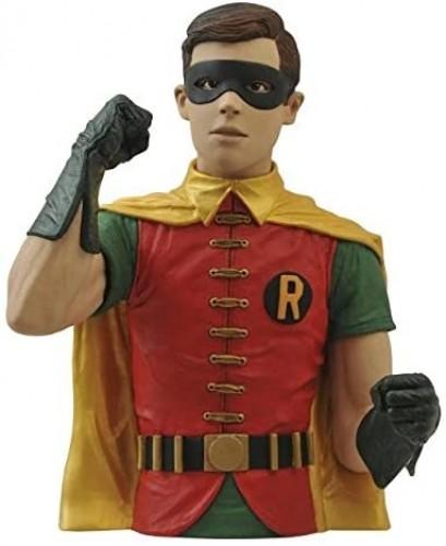 DIAMOND SELECT TOYS Batman Classic 1966 TV Series Robin Vinyl Bust Bank