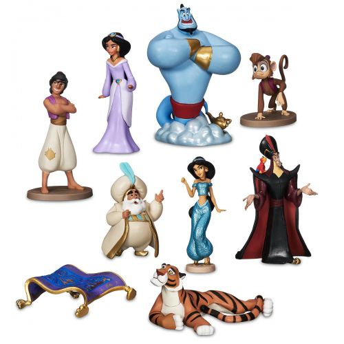 Disney Aladdin Deluxe Pack Com 9 Personagens Original disney Store