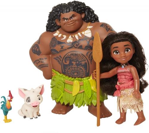 Disney Moana com Maui Demigod 4 pcs Oficial Licenciado