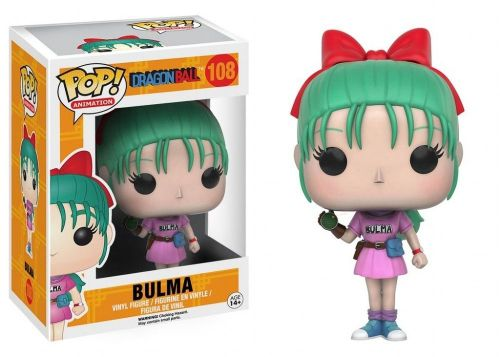 Funko Pop Anime Dragon Ball Z - Bulma