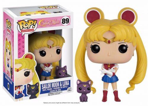 Funko Pop Anime Sailor Moon - Sailor Moon with Luna