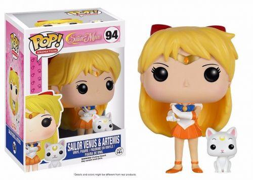 Funko Pop Anime Sailor Moon - Sailor Venus with Artemis