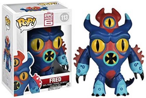 Funko Pop Big Hero 6 - Fred