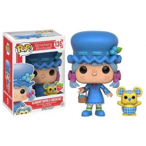 Funko Pop Blueberry Muffin & Cheesecake - Moranguinho 135
