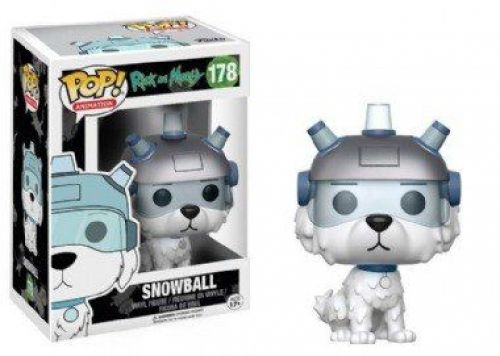 Funko Pop Cartoon Rick and Morty - Snowball