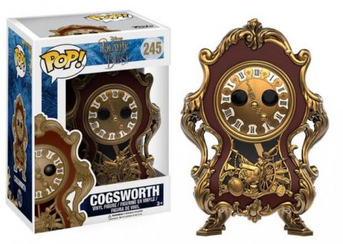 Funko Pop Disney A Bela E A Fera - Cogsworth
