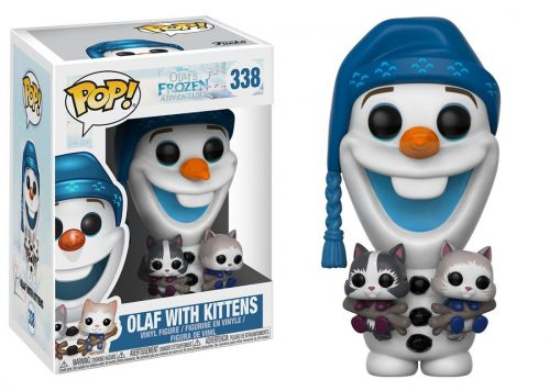 Funko Pop Disney Olafs Frozen Adventure - Olaf W/ Kittens