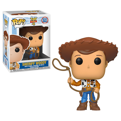 Funko Pop Disney - Toy Story 4 Sheriff Woody 522