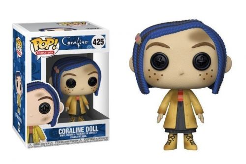 Funko Pop Filmes Coraline - Coraline Doll 425