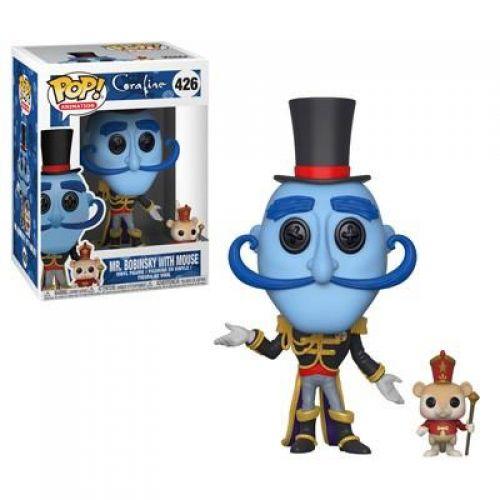 Funko Pop Filmes Coraline - Mr. Bobinsky With Mouse