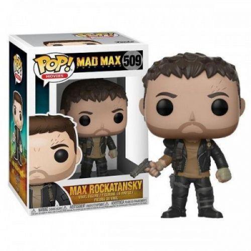 Funko Pop Filmes - Mad Max - Max Rockatansky