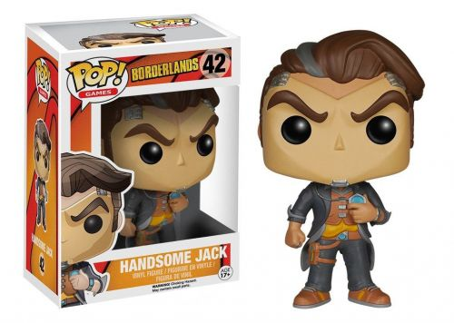 Funko Pop Games Borderlands - Handsome Jack