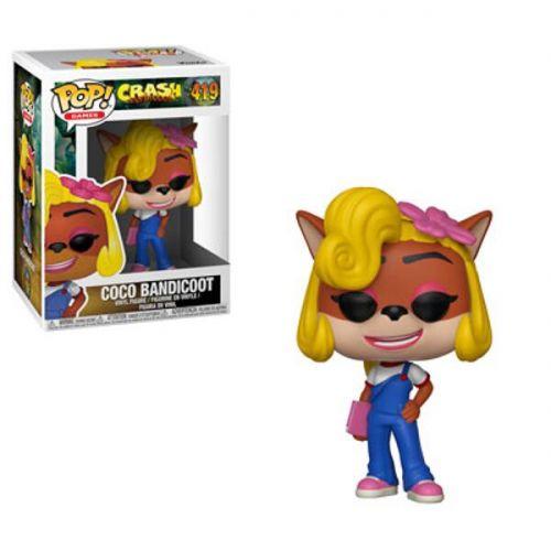Funko Pop Games Crash Bandiccon - Coco Bandicoot