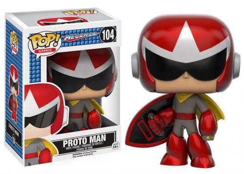 Funko Pop Games Mega Man - Proto Man