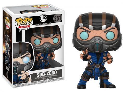 Funko Pop Games Mortal Kombat - Sub-Zero