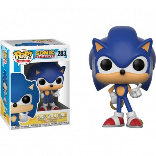 Funko Pop Games - Sonic The Hedgehog Witth Ring 283