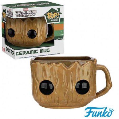 Funko Pop Home Caneca de Cerâmica Guardiões da Galáxia - Groot