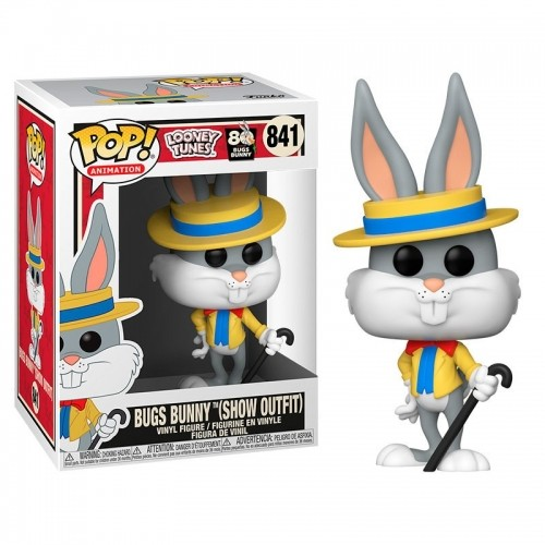Funko Pop Looney Tunes 80 anos Bugs Bunny Pernalonga 841