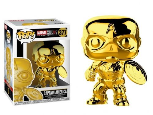 Funko Pop Marvel 10th Anniversary Marvel Studios Captain America 377