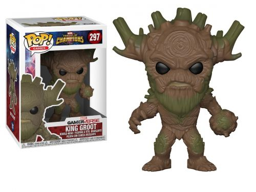Funko Pop Marvel Contest Of Champions - King Groot