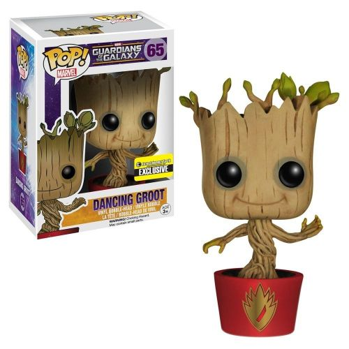 Funko Pop Marvel Guardians of the Galaxy - Dacing Groot