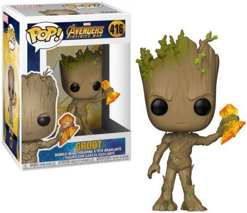 Funko Pop Marvel Vingadores Guerra Infinita - Groot 416
