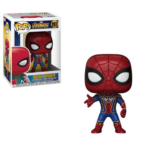 Funko Pop Marvel Vingadores Guerra Infinita - Iron Spider