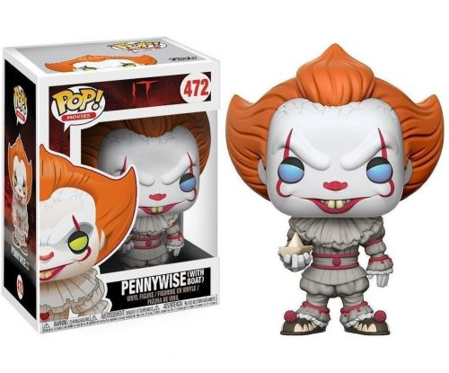 Funko Pop Movies It Pennywise With Boat 472