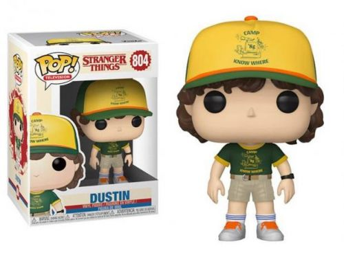 Funko Pop Series Stranger Things - Dustin 804